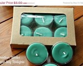 Sale Vegan Soy Tea lights Canadian Winter EXCLUSIVE CUSTOM BLEND. Packaged beautifully.