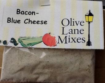 Bacon-Blue Cheese Dip, Dry dip Mix, Dips, Burger Spread, Veggie Dip Mix, Chip Dip, Dry Seasonings