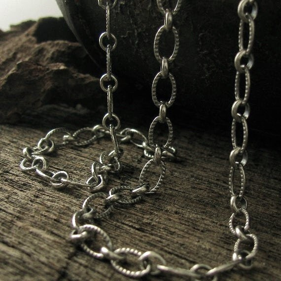 Heavy Duty Sterling Silver Cable Chain Large Thick