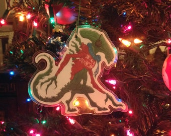 ALIEN Xenomorph Christmas Ornament