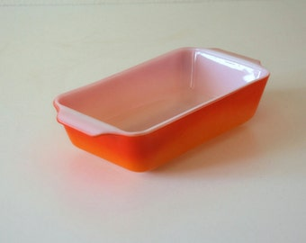 Vintage Anchor Hocking Fire King, Baking Dish, Casserole Dish, Ovenware