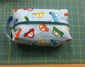 Small Ditty Bag with Cars
