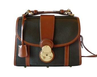 Authentic Dooney & Bourke Lockhart AWL Crossbody Shoulder Bag