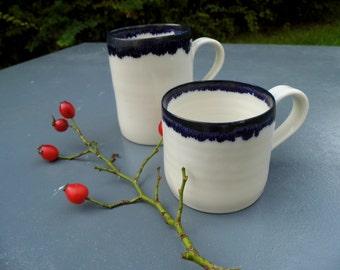 Blue medium cup