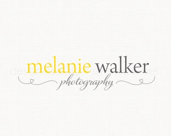 typography logo heart logo design photography logo graphic design premade logo design photographers logo branding logo watemark logo design
