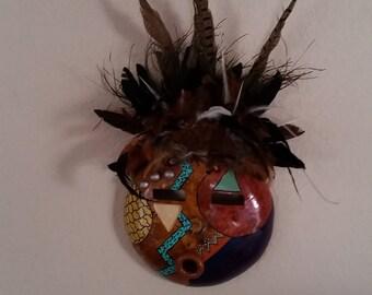 Red Moon Spirit Mask