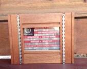 4x6 mahogany chain frame