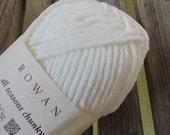 BULKY Weight Yarn - Rowan All Seasons Chunky - Cotton Blend - Foam (#600) - 100g - 93 yards
