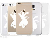 Octopus Clear Phone Case Apple Android