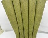 Wool Felt, 2 Sheets, Camouflage, 35% Merino Blend, 12 X 18