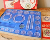 Vintage 1967 Spirograph with Blue Tray