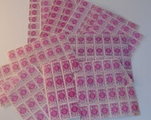 Quantity of pink trading stamps Advance Cash Stamps Co coupons vouchers