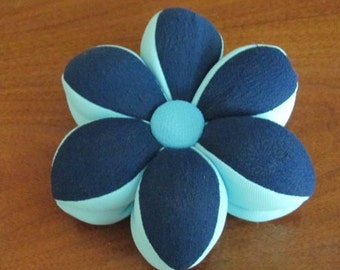 Vintage Handmade Pinwheel Pin Cushion - Sewing - Needlework - Crafting - Pincushion