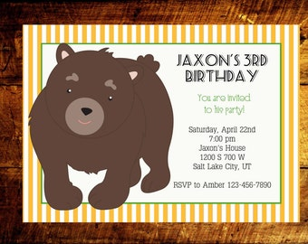 boy birthday invitations, 1st birthday invitations, kids birthday invitations, birthday invites, birthday invitations