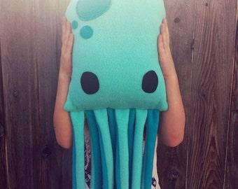 Octopus, pillow, plush, cushion, gift
