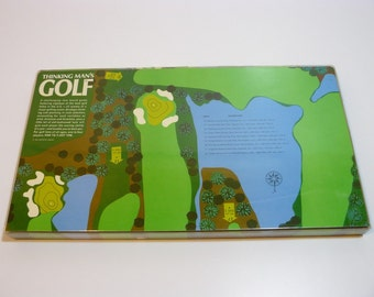 Thinking Man's Golf Board Game by 3M – Vintage 1966 - Collectable Fold Out Golf Course