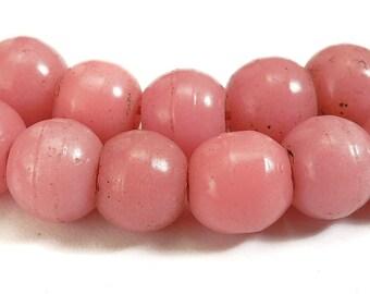 Pink Prosser Glass Trade Beads African 73908