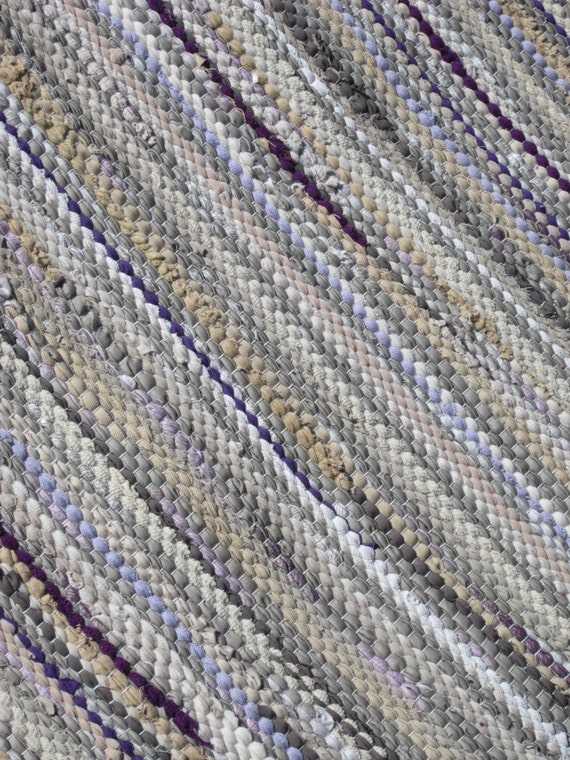Area rug size 5 38 x 3 96 light brown cocoa sand lilac mix