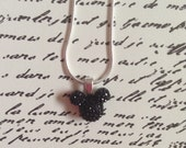 Mickey Mouse Head Silhouette Necklace