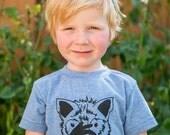 Infant/child/youth Fox American Sign Language ASL  tri blend shirt babies