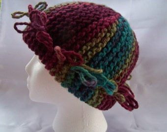 Going Loopy Handmade Knit Hat
