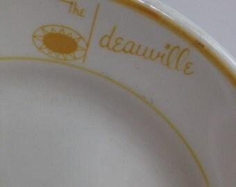 Atlantic City NJ Deauville Hotel China Plate Homer Lauglin