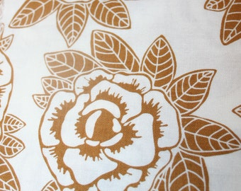 Rose Fabric - Indie Chick - Main Brown (One Yard)