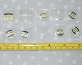Watch Crystals - 10 pieces - Glass - Old Stock (D1)
