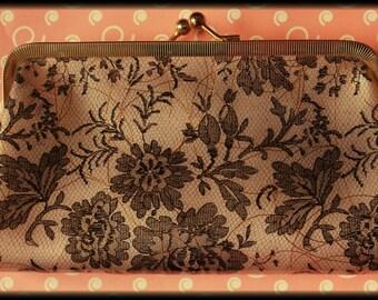 1950's Vintage floral purse / clutch
