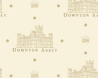 Downton Abbey Portrait Fabric by Andover