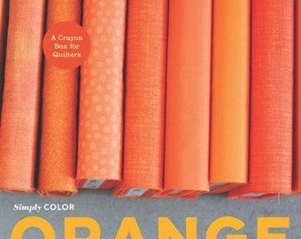 Simply Color ORANGE BOOK by Vanessa Christensen of V and Co.