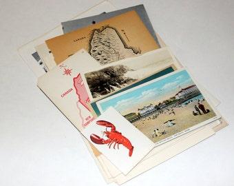 Maine - United States Vintage Travel Collage Kit