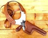 Mauser C96 Machine Pistol Shoulder Holster