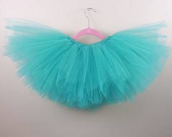 Bright Teal Tutu Ovarian Cancer Food Allergies Panic Disorder PTSD Awareness Tourettes Syndrome Uterine Cancer