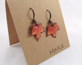 Little Maple Leaf Earrings