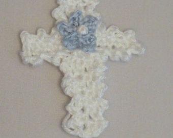 Crochet Cross Applique