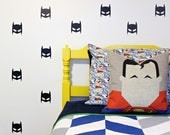 Superhero Mask Vinyl Wall Decals