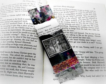 Paper Bookmark, School Bookmark, Unique Bookmark, Eco Friendly, Recycled Paper, Book Club Gift, Book Lover, SALE Buy 2 Get 1 FREE, Geek Gift