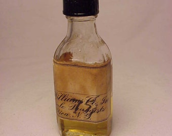 c1930s A. W. Williams Co. Wholesale Druggists Utica, N.Y., Screw Top Medicine Druggist Bottle With Paper Label