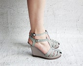 Marijon - Green - FREE SHIPPING Handmade Leather Shoes with Summer Sale Price