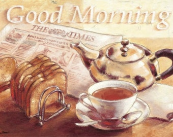 Good Morning - Cross stitch pattern pdf format