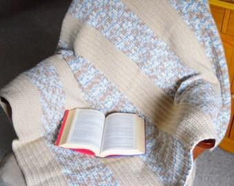 Hand Crochet Blanket, Afghan,