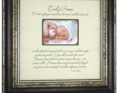 Personalized Baby Picture Frame, Baptism Christening Gift, First Birthday, On The Night You Were Born, Personalized Picture Frame, 16 X 16
