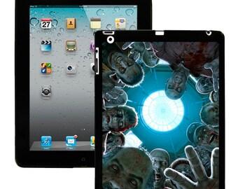 iPad 2/3/4 - iPad Mini - snap on plastic case - Zombie Attack
