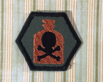 STEAMPUNK Merit Badge - Apothecary Steampunk Scouts
