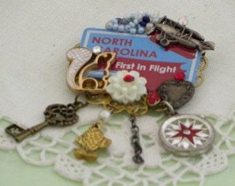 NORTH CAROLINA PiN -  First in Flight - USA Jewelry