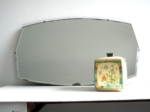 Vintage specchio senza cornice specchio da di snapshotvintage - Specchio senza cornice ...