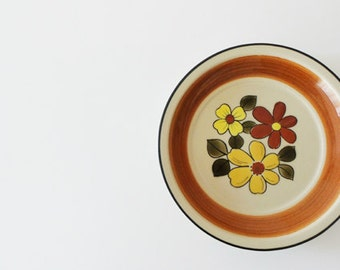 Vintage Retro JCPenney 70's Plate