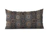 Lumbar Pillow Cover Blue Pillow Brown Pillow Decorative Pillow Oblong Accent Throw Pillow Cover Upholstery 12x24 12x21 12x18 12x16 10x20