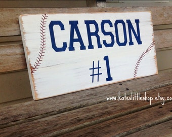 Hand Painted Wood Sign. Baseball Sign. Boys Room Decor. Rustic Decor. Teen Room Decor. Rustic. Children. Sports. Baseball. Vintage Looking.